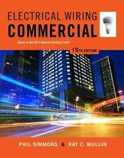Electrical Wiring Commercial, Mullin, Ray C., Simmons, Phil, Good,  Book