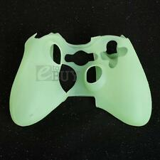 Silicone Protection Skin Cover Case Glowing for Xbox360 Game Controller Green