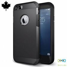 New iPhone 6 iPhone 6s Black Case Heavy Duty Shock Proof Dual Layer Tough Amor