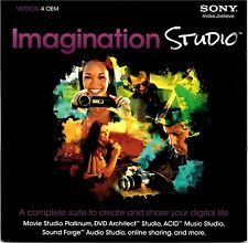 50 (FIFTY) Sony Imagination Studio 4 - Brand New - Sealed DVD