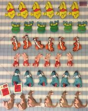 Lot of 60 Winnie the Pooh theme Nursery Mobile Components or Christmas Ornaments