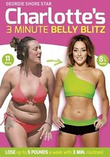 CHARLOTTE CROSBY's 3 MINUTE BELLY BLITZ FITNESS HOME FITNESS VIDEO DVD