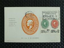 MEXICO MK 1968 MEXIKO EFIMEX MAXIMUMKARTE CARTE MAXIMUM CARD MC CM c5023