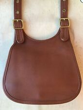 Vintage COACH Faiths Legacy BAG No. M4C-9949 British Tan LEATHER Shldr/Crossbody