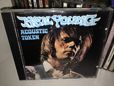 NEIL YOUNG ACOUSTIC TOKEN RARE CD RECORDED LIVE CINCINNATI MUSIC HALL 1970