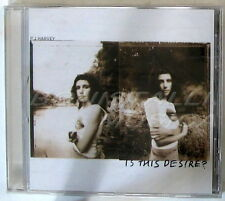 P J HARVEY - IS THIS DESIRE - CD Sigillato