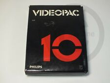 PHILIPS G7000 GAME Videopac 10 Golf OVP, used but GOOD