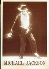 PICTURE POST CARD OF MICHAEL JACKSON IN CONCERT NO DATE OR PLACE GIVEN