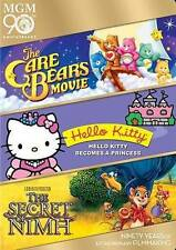 Care Bears Movie, The / Hello Kitty Becomes a Princess / The Secret of Nimh Tri