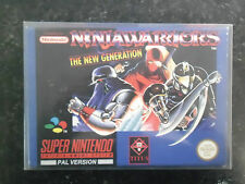 SNES game-ninja warriors the new generation-rare super nintendo