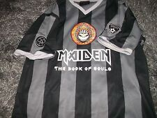 IRON MAIDEN FOOTBALL SHIRT BOOK OF SOULS 2016 XXL