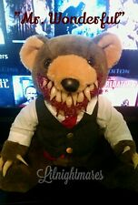Ooak Lilnightmares Horror Teddy Bear haunted dead doll zombie