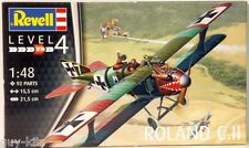 Avion de chasse Allemand ROLAND C.II, 1917  - KIT REVELL 1/48 n° 3965