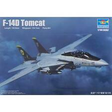 NEW Trumpeter 1/144 F-14D Tomcat Fighter 3919