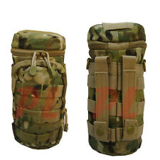 Molle Water Bottle Hydration Pouch Carrier Utility Storage Holder Bag - MULTICAM
