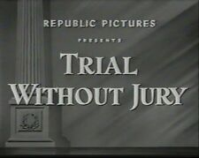 TRIAL WITHOUT JURY  1948 (DVD) ROBERT ROCKWELL
