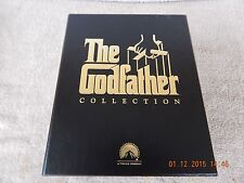 THE GODFATHER COLLECTION TRILOGY - THX DIGITALLY REMASTERED (VHS)