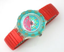 Tipping Compass-SWATCH SCUBA-sdk111 C con Flex Band-nuovi e mai indossati