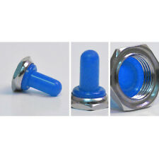Blue 12mm Rubber Rocker Toggle Switch Knob Hat Waterproof Boot Cover Cap Sales