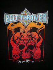 Bolt thrower-Cenotaph shirt M Cannibal noces immolation Gorefest