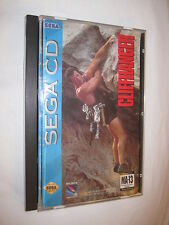 CliffHanger (Sega CD) Genesis Cliff Hanger Complete in Case Excellent~
