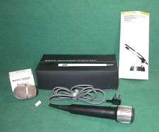 Classic Sony ECM-200S Electret Condenser Microphone with Wind Screen and Case