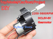DC geared motor 1.5V-6V 5V high speed 9800rpm gear box Toy Boat Car Project DIY