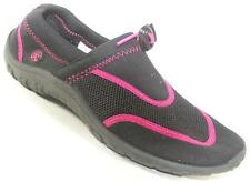 NEW Women's NORTHSIDE Black/Pink  Athletic Water Aqua Sandals Shoes SZ 8