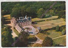 CPSM 56330 PLUVIGNER Château de Keronic et son étang vue aérienne Edt COMBIER