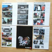 DAIHATSU Range orig 1982 UK Mkt 5 part brochure portfolio - Charade Charmant