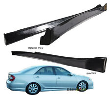 02-03 Toyota Camry PU Side Skirts Vip Style Poly Urethane