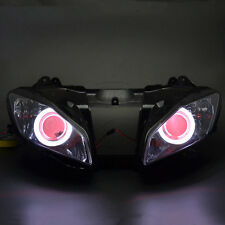 Assembly Headlight Demon Angel Eyes Projector HID for Yamaha YZF R6 2006 2007
