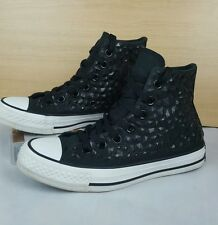 Converse Chuck Taylor All Star Strass Hi Tops 540230c UK 3 EUR 35 Nero