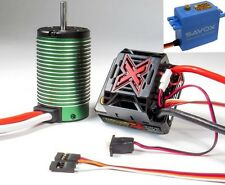 Castle Creations Mamba Monster X 1/8 WP Esc w 2650KV Motor Combo + 0231MG Servo