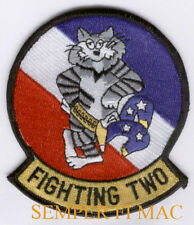 VF-2 BOUNTY HUNTERS PATCH FIGHTING USS BABY F14 US NAVY