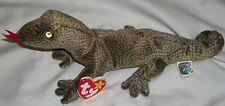 AH Ty Beanie Baby Babies Scaly The Lizard Iguana Kimodo Dragon 1999 With Tag