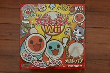 Nintendo Wii Taiko no Tatsujin with Drum boxed JAPAN Import game