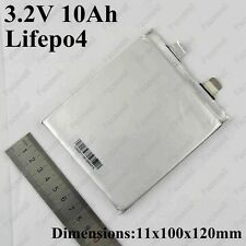 10 Ah 3.2 V LiFePO4 prismatic cell battery pouch