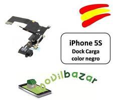 CABLE FLEX DOCK CONECTOR DATOS IPHONE 5S NEGRO NUEVO CARGA. ESPAÑA