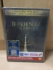 Snow White and the Huntsman French FNAC *Special Edition* Blu Ray Steelbook NEW