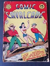 Comic Cavalcade (1943) #3 Low Grade Golden Age Flash Wonder Woman Green Lantern