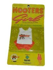 "NEW Hooters Restaurant Girl 11.5"" Doll Outfit Fits Barbie"