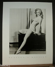 Earl Moran Marilyn Monroe Pinup Playboy Edition Black & White Classic Swimsuit