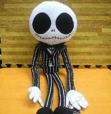 "25"" Plush Nightmare Before Christmas Jack Skellington Poseable Doll Xmas Gift"