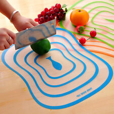 New Flexible Ultra-thin Fruit Vegetable Cutting Chopping Board Mat Kitchen Tool