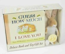 Guess How Much I Love You: Deluxe Book and Toy Gift Set [With Toy Rabbit] by Sam