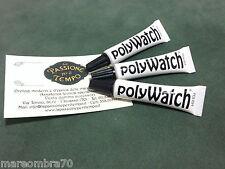 Promozione 3 Polywatch Per Vetri Plexy Kit Orologiaio