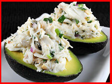 Sheryl's Cilantro and Lime Crab Salad in Avocado Halves Recipe 99 Cents