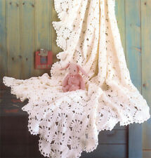 Crochet pattern-  Baby Shawl pattern- gorgeous to crochet in either DK or 4 ply
