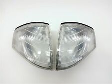 MERCEDES BENZ R129 CLEAR EURO TURN SIGNAL CORNER LIGHTS LIGHT OEM SL500 SL600